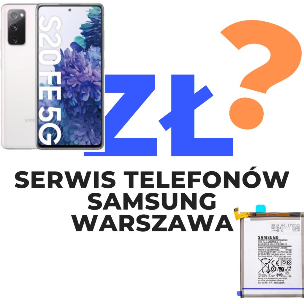 Serwis telefonów Samsung Warszawa